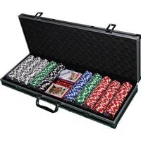 Набор для покера Rail Black на 500 фишек