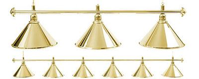 Бильярдный светильник Golden