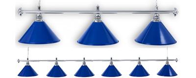 Бильярдный светильник  Silver Blue