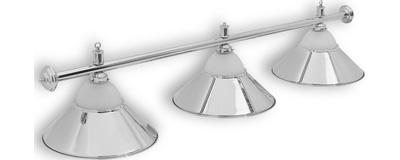 Бильярдный светильник Alison Silver