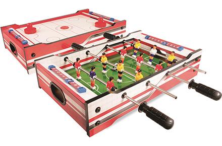 Футбол-аэрохоккей 2 в 1 Sunny 2 ft