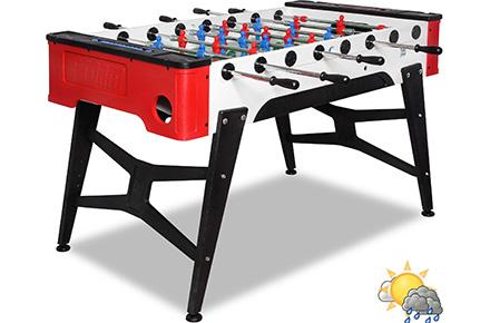Игровой стол для футбола всепогодный STORM F-1 4,5 ft