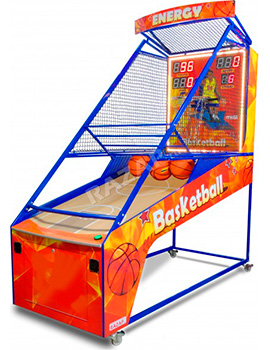 Игровой автомат Баскетбол Energy Red Light+